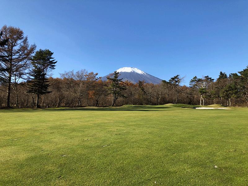 山荘周辺のゴルフ場