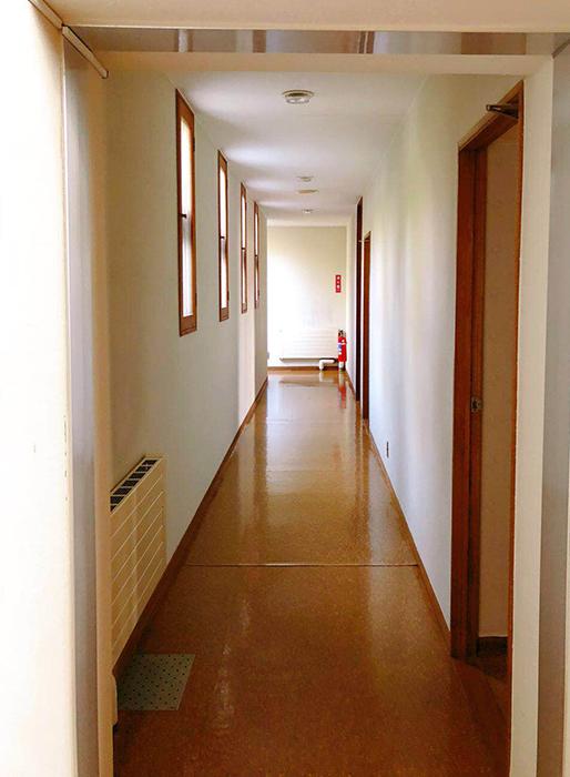お部屋の外廊下