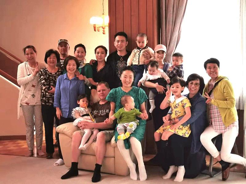 家族の集まり会